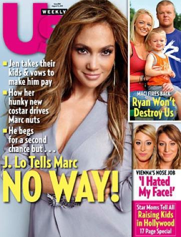 Jennifer Lopez on Us Weekly