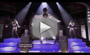 Corbin Bleu on Dancing With the Stars Week 9