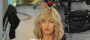 Megan Fox Blonde Wig Photo