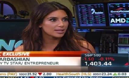 Kim Kardashian on the Economy: Ummm....