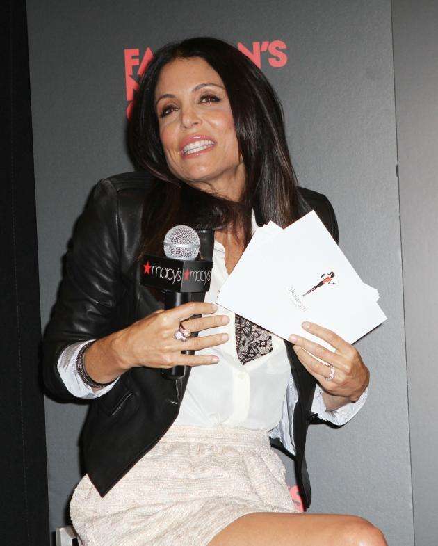 Bethenny Frankel at Macy's