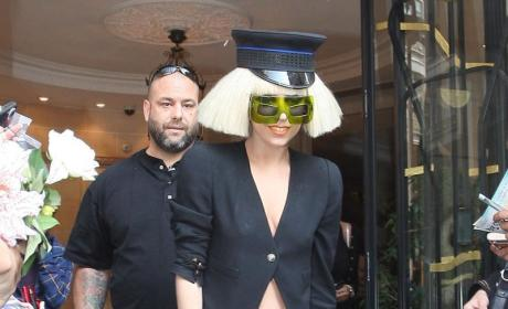 Pantsless Lady Gaga