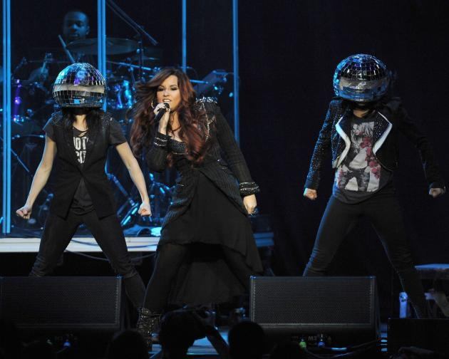 Demi Lovato Jingle Ball Performance Pic