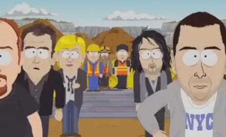 South Park Skewers Osama Bin Laden, Tyler Perry