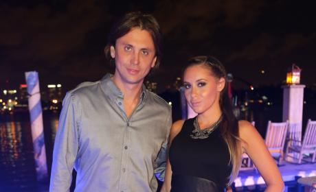 Anat Popovsky, Jonathan Cheban Photo