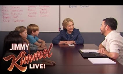 Jimmy Kimmel to Kids: Can A Woman Be President?