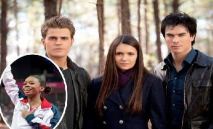 The Vampire Diaries Stars Send Congratulations to Gabby Douglas
