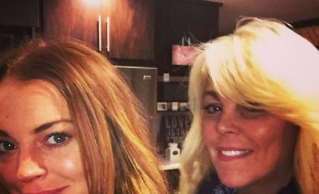 "Lindsay Lohan is ""Done"" With Mom Dina, Posts Cryptic Instagram"