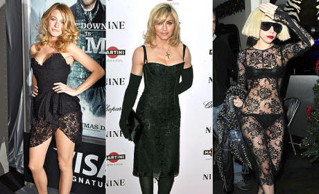 Celebrity Fashion Face-Off: Blake Lively vs. Madonna vs. Lady Gaga