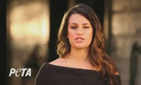 Lea Michele for PETA: Save the Horses!