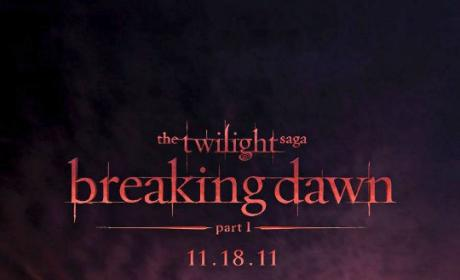 First Breaking Dawn Poster: Unveiled!