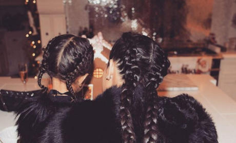 Kim Kardashian and North West: Totally Twinning!