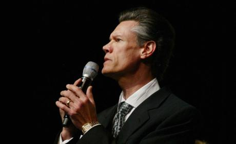 Randy Travis Smashed Pickup Truck Discovered on Side of Road