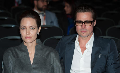 Brad Pitt and Angelina Jolie: Honeymooning in Malta! Filming Hot New Movie Together!
