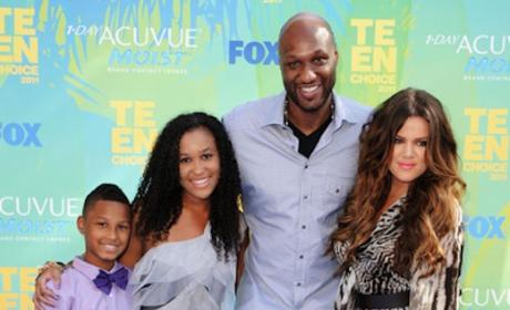 Khloe Kardashian: Blocking Lamar Odom's Kids From Ailing Father?!