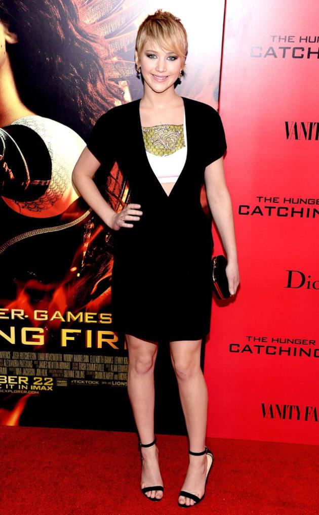 Jennifer Lawrence in The Big Apple