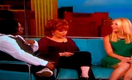 Whoopi Goldberg Farting on The View