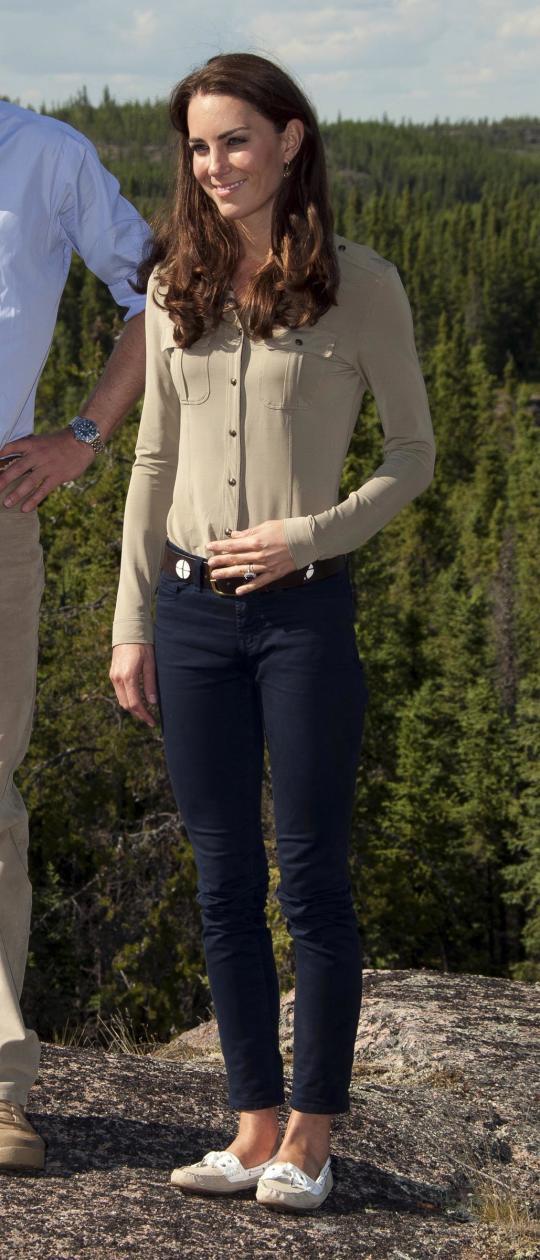 Kate Middleton, Skinny Jeans