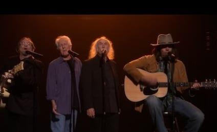 Jimmy Fallon (Sort Of) Reunites Crosby, Stills, Nash & Young; Covers Iggy Azalea