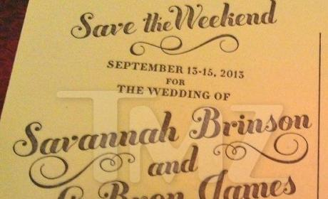 LeBron James Save the Date Card: Revealed!