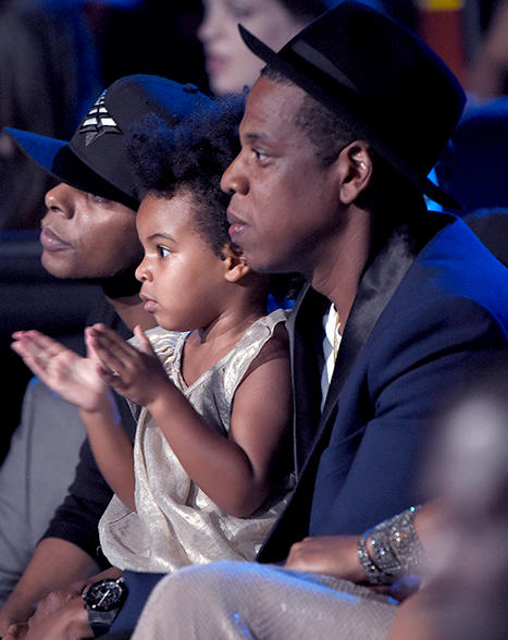 Jay Z and Blue Ivy Carter at VMAs