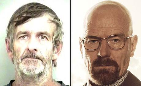 Non-Fictional Walter White Wanted on Meth Charges