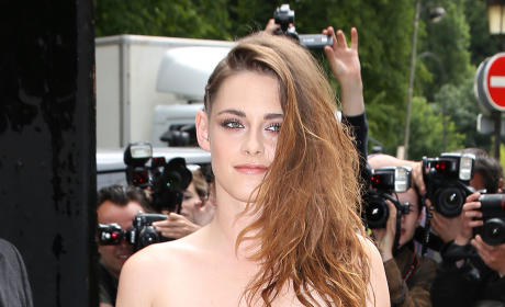 What do you think of Kristen Stewart's lacy outfit?