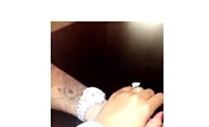 Rob Kardashian and Blac Chyna: Taunting Kim After Robbery?!