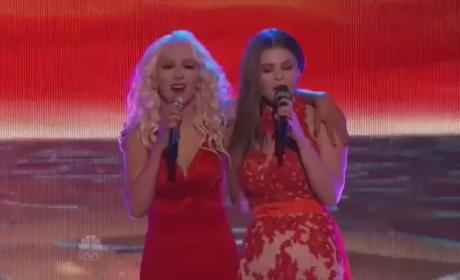 """Jacquie Lee and Christina Aguilera: """"We Remain"""" - The Voice"""