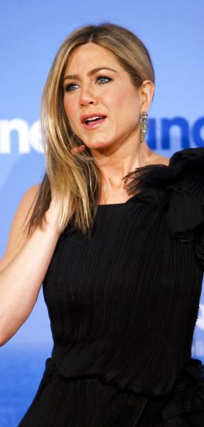 Aniston With Longer Hair