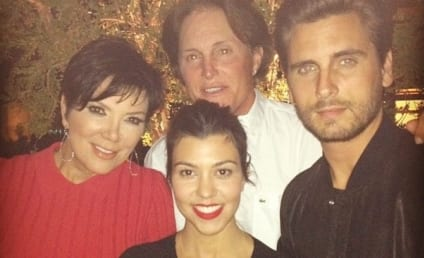 """Kourtney Kardashian: """"Trying to Save Her Family"""" In Wake of Bruce Jenner Sex Change Drama, Source Claims"""