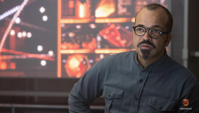 Jeffrey Wright in Mockingjay