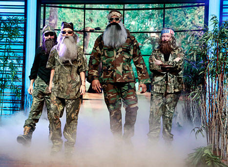 Kelly Ripa as Duck Dynasty Member