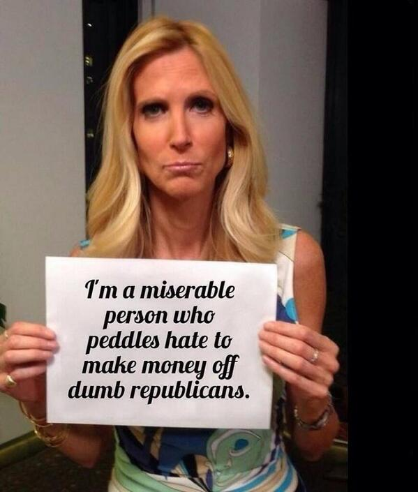 Ann Coulter: Miserable Person