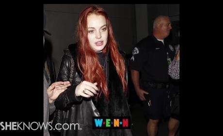 Lindsay Lohan: Moving to London?