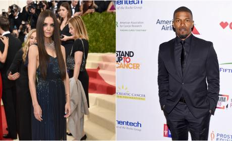 Katie Holmes and Jamie Foxx Are Really Dating, I Guess?