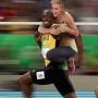 Ellen and Usain Bolt