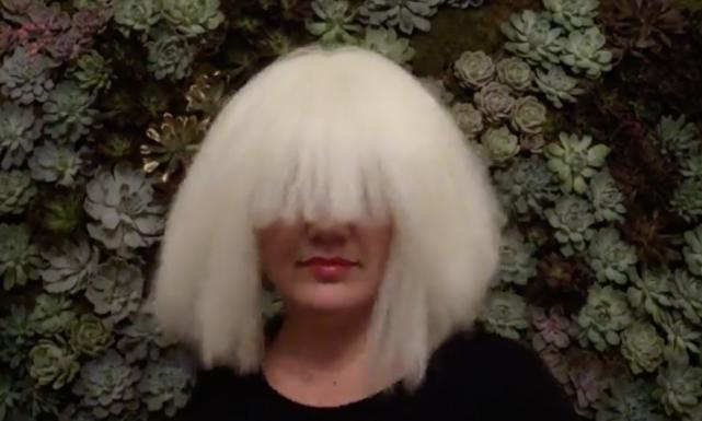 Kelly clarkson as sia