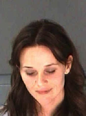 Reese Witherspoon Mug Shot