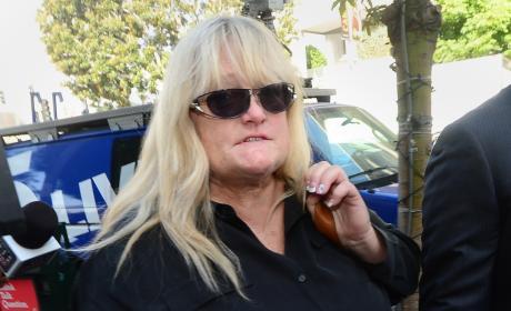 Debbie Rowe Attends Michael Jackson Trial Against AEG Live