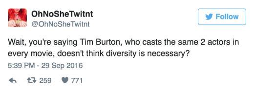 Burton tweet