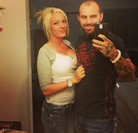 Adam Lind and Jessica Nicole