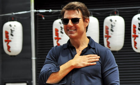 Tom Cruise in Japan