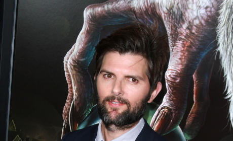 Adam Scott: 'Krampus' Premiere