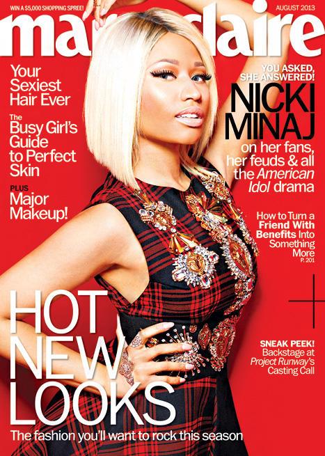 Nicki Minaj Marie Claire Cover