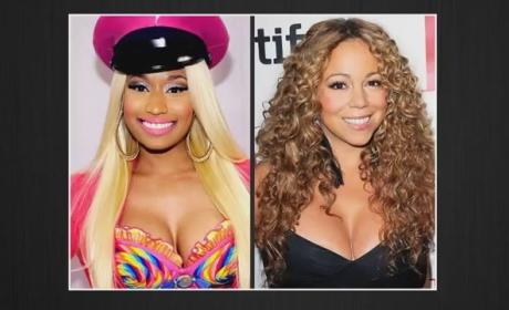 "Barack Obama ""Confident"" Nicki Minaj and Mariah Carey Will Settle Beef"