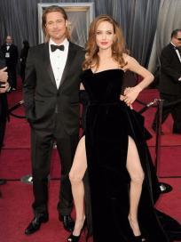 Angelina Jolie Spreads 'Em