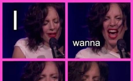 Lady Gaga No Wig