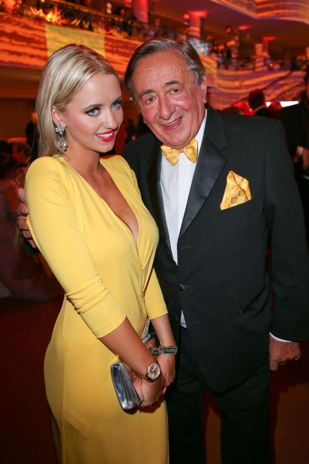 Richard Lugner 82 Year Old Billionaire Marries 25 Year