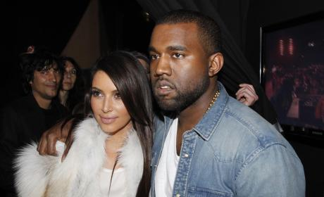 Kim Kardashian and Kanye West: Totally in Love!!!